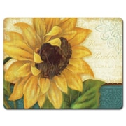 HighlandHome Sunflower Glass Cutting Board