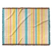 Highland Dunes Roseann Woven Blanket; 50'' W x 60'' L