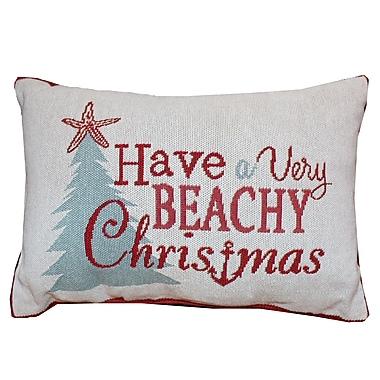 Highland Dunes Juliet Beachy Christmas Lumbar Pillow