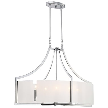 Latitude Run Janik 6-Light Drum Pendant