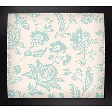 Ophelia & Co. 'Toile Fabrics XI' Graphic Art Print; Black Large Framed