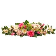 Ophelia & Co. Rose and Hydrangea Swag
