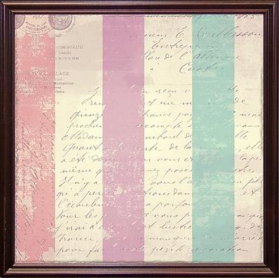 Ophelia & Co. 'Petals of Paris VII' Graphic Art Print; Cherry Grande Framed