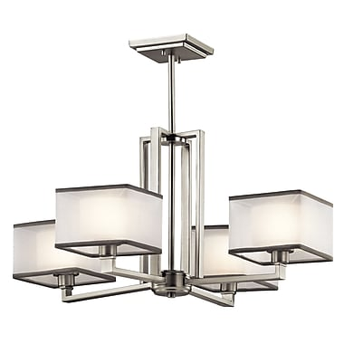 Orren Ellis T.S. 4-Light Shaded Chandelier