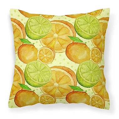 Red Barrel Studio Keshia Limes ands Citrus Outdoor Throw Pillow
