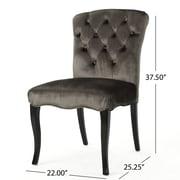 Rosdorf Park Binning Armless Upholstered Dining Chair (Set of 2)