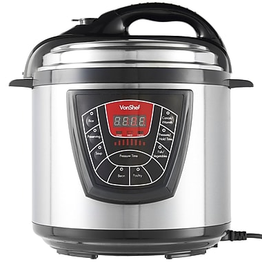 VonShef 5Quart Electric Pressure Cooker