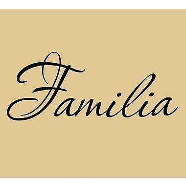VWAQ Familia Spanish Family Wall Decal