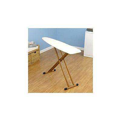 Household Essentials® Fibertech® Top 4-Leg Ironing Board, Natural Bamboo