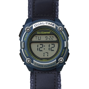 MedCenter Softsider Reminder Watch, Blue (21674)