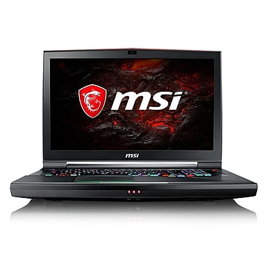 MSI-Portatif de jeu 17,3po, 2,9GHz Core i7-7820HK, DD 1 To + SSD512 Go, DDR4 32Go, NVIDIA GeForce GTX 1080, Win 10
