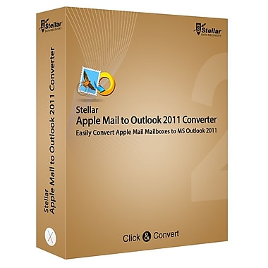 Stellar Apple Mail to Outlook 2011 Converter for Mac (1 User) [Download]