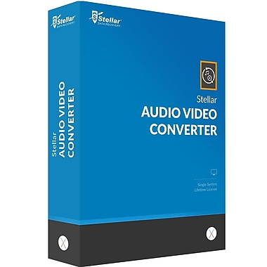 Stellar Audio Video Converter for Mac (1 User) [Download]