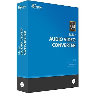 Stellar – Logiciel Audio Video Converter pour Mac (1 utilisateur) (téléchargement)