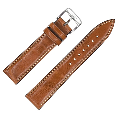Dakota 24mm Brown Handmade, Italian Leather Rustic Strap (18219)