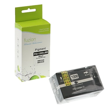 fuzion™ New Compatible Canon PGI1200XL HY Black Ink Cartridges, High Yield (PGI1200BK)