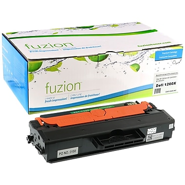 fuzion™ New Compatible Dell B1260DN HY Black Toner Cartridges, High Yield (3317327)