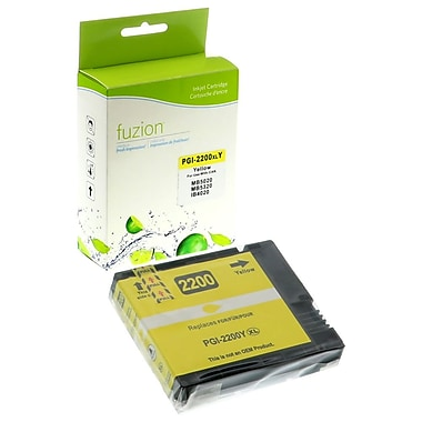 fuzion™ New Compatible Canon PGI2200XL HY Yellow Ink Cartridges, High Yield (9270B001)