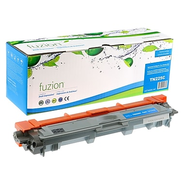 fuzion - Cartouche de toner cyan compatible Brother TN-221, rendement standard (TN225C)