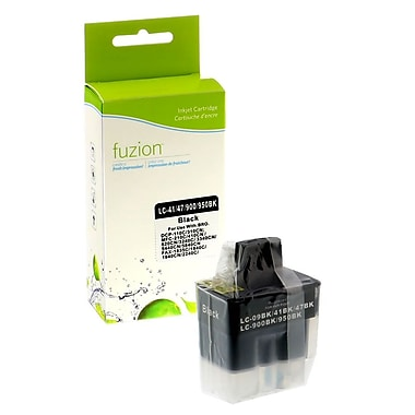 fuzion™ New Compatible Brother LC41 Black Ink Cartridges, Standard Yield (LC41BK)