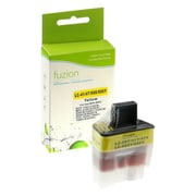 Fuzion - Cartouche d'encre jaune compatible Brother LC41, rendement standard (LC41Y)
