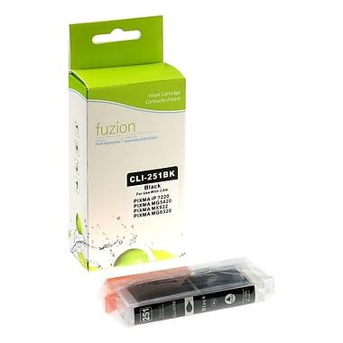 fuzion™ New Compatible Canon PGI251XL Black Ink Cartridges, High Yield (6513B001)
