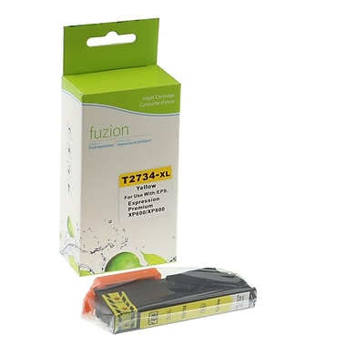 fuzion™ New Compatible Epson Expression Home XP600 Series Yellow, High Yield Ink (2734XL)