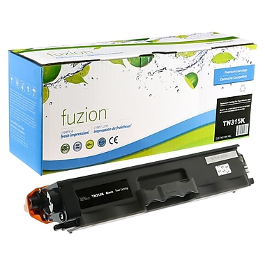 fuzion™ Compatible Brother HL4150 Black Toner Cartridge, High Yield (TN315BK)
