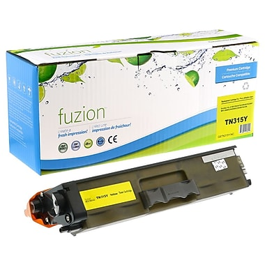 fuzion™ Compatible Brother HL4150 Yellow Toner Cartridge, High Yield (TN315Y)