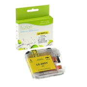fuzion™ New Compatible Brother LC205XXLY Yellow InkJet Cartridge, Extra, High Yield (LC205YS)