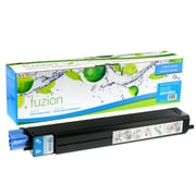 fuzion™ New Compatible Okidata C9600 Cyan Toner Cartridges, Standard Yield (42918903)