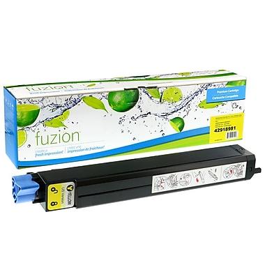 fuzion™ New Compatible Okidata C9600 Yellow Toner Cartridges, Standard Yield (42918901)