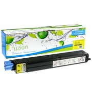 fuzion™ New Compatible Okidata C9600 Yellow Toner Cartridges, Standard Yield (42918901)