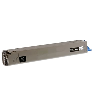 fuzion™ Remanufactured Okidata C831N HY Black Toner Cartridges, Standard Yield (44844512)