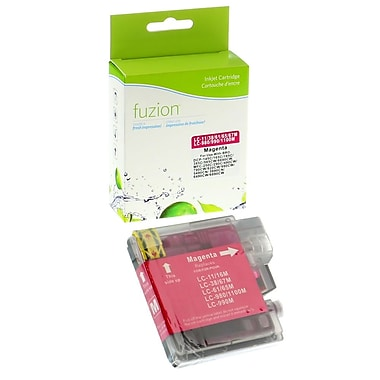 fuzion™ New Compatible Brother LC61 Magenta Ink Cartridges, Standard Yield (LC61MS)