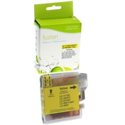 fuzion™ New Compatible Brother LC61 Yellow Ink Cartridges, Standard Yield (LC61YS)