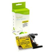 fuzion™ New Compatible Brother LC75 HY Yellow Ink Cartridges, Standard Yield (LC75YS)
