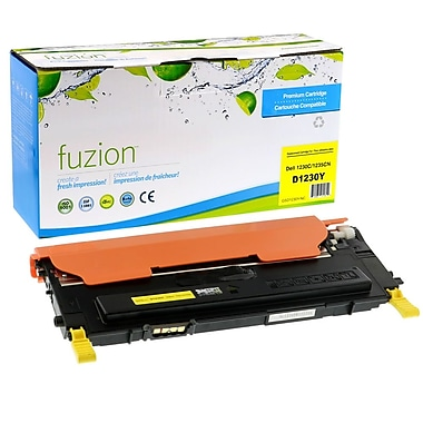 fuzion™ New Compatible Dell 1230C Yellow Toner Cartridges, Standard Yield (3303013)