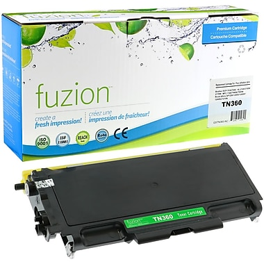 fuzion™ New Compatible Brother TN360 Black Toner Cartridges, High Yield (TN460)