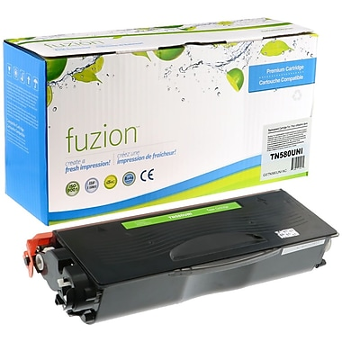 fuzion™ New Compatible Brother N580 Uni Black Toner Cartridges, High Yield (TN580, TN650)