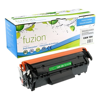 fuzion™ New Compatible Canon 104/FX9/FX10 Black Toner Cartridges, Standard Yield (0263B001AA)