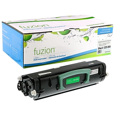 fuzion™ New Compatible Dell 2330cn Black Toner Cartridges, Standard Yield (3302667)