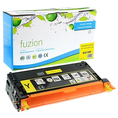 fuzion™ Remanufactured Dell 3110CN Yellow Toner Cartridges, Standard Yield (3108401)