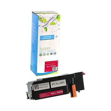 fuzion™ New Compatible Dell E525W Magenta Toner Cartridges, High Yield, (593BBVJ)