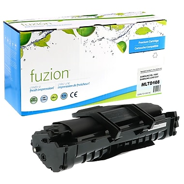 fuzion™ New Compatible Samsung ML1640 Black Toner Cartridges, Standard Yield (MLTD108S)