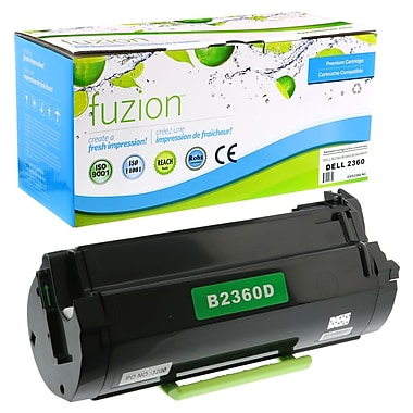 fuzion - Cartouches de toner compatibles Dell B2360D, rendement standard (3319805)