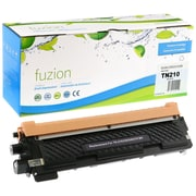Fuzion – Cartouche de toner noir compatible Brother TN-210, rendement standard (TN210BK)
