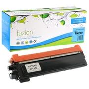 Fuzion - Cartouche de toner cyan compatible Brother TN-210, rendement standard (TN210C)