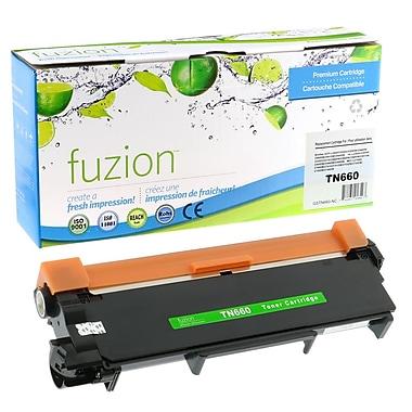 fuzion - Cartouche de toner noir neuve, compatible Brother TN660, rendement élevé (TN660)