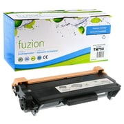 fuzion™ New Compatible Brother TN750 Black Toner Cartridge, High Yield (TN750)